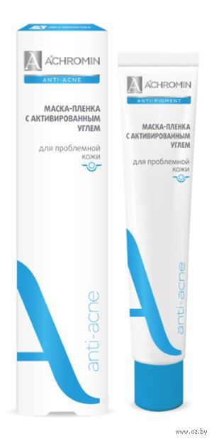 "Маска-пленка для лица ""Anti-acne. С активированным углем"" (75 мл) — фото, картинка"