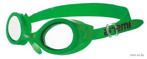 Очки для плавания (салатовые; арт. N7303) — фото, картинка