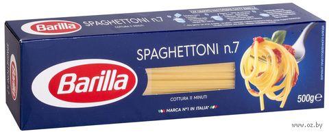 """Макароны """"Barilla. Spaghettoni №7"""" (500 г) — фото, картинка"""