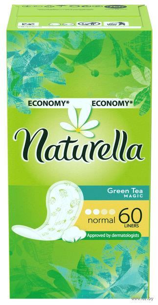 Ежедневные прокладки NATURELLA Green Tea Magic Normal (60 шт)