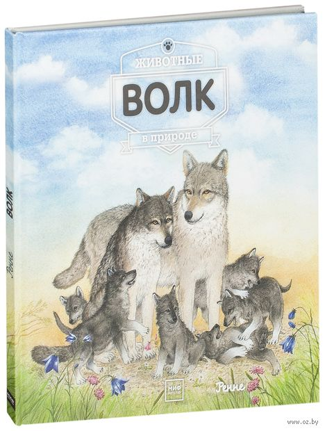 Животные в природе. Волк