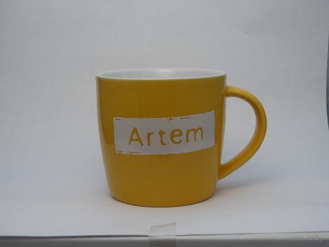 """Кружка """"ARTEM"""" — фото, картинка"""