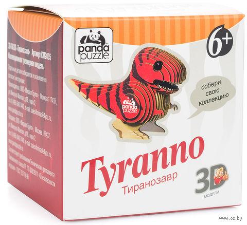 "Пазл ""3D PandaPuzzle. Тираннозавр"" (22 элемента) — фото, картинка"