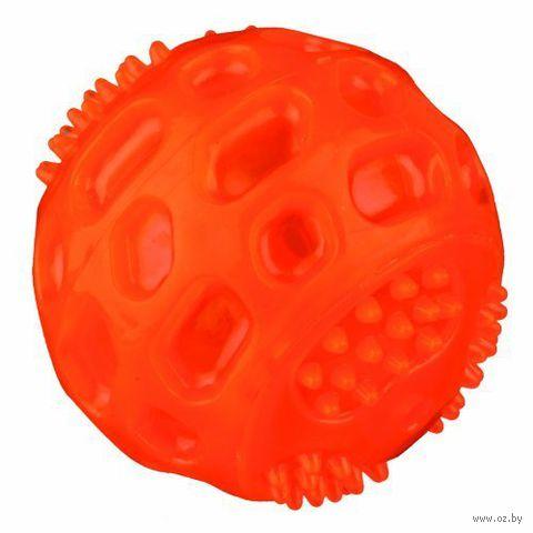 """Игрушка для собак """"Мяч мигающий"""" (6,5 см) — фото, картинка"""
