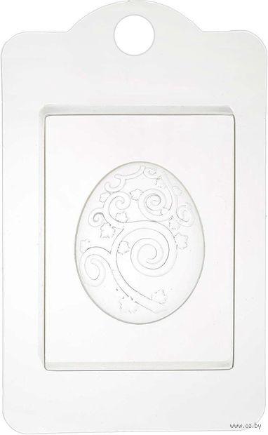 """Форма для изготовления мыла """"Яйцо с узором"""" — фото, картинка"""
