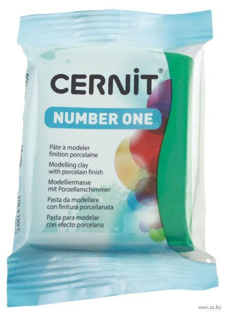"""Глина полимерная """"CERNIT Number One"""" (зеленый; 56 г) — фото, картинка"""