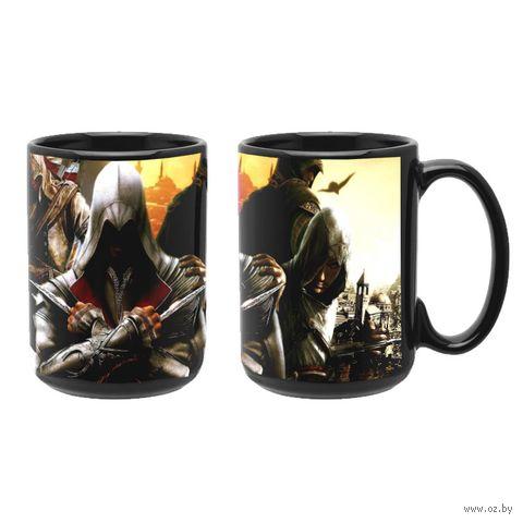 """Кружка """"Assassin's Creed"""" (чёрная; арт. 3271) — фото, картинка"""
