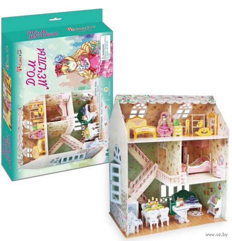 """Сборная модель из картона """"Дом мечты"""" — фото, картинка"""