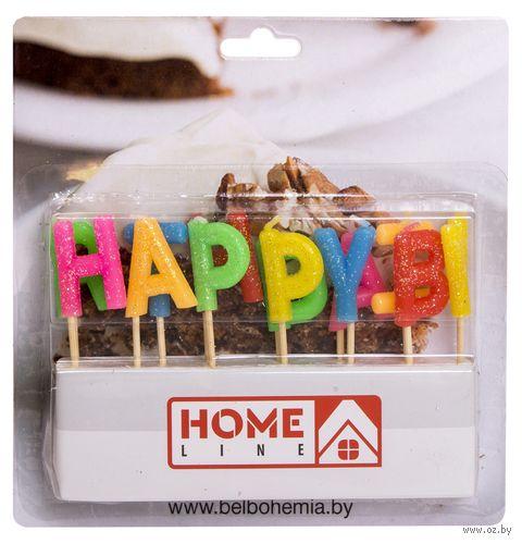 "Набор свечей для торта ""Happy Birthday"" (13 шт.; арт. BC-18) — фото, картинка"