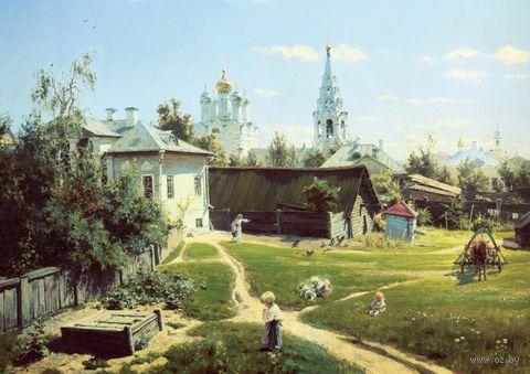 """Пазл """"Московский дворик"""" (60 элементов)"""