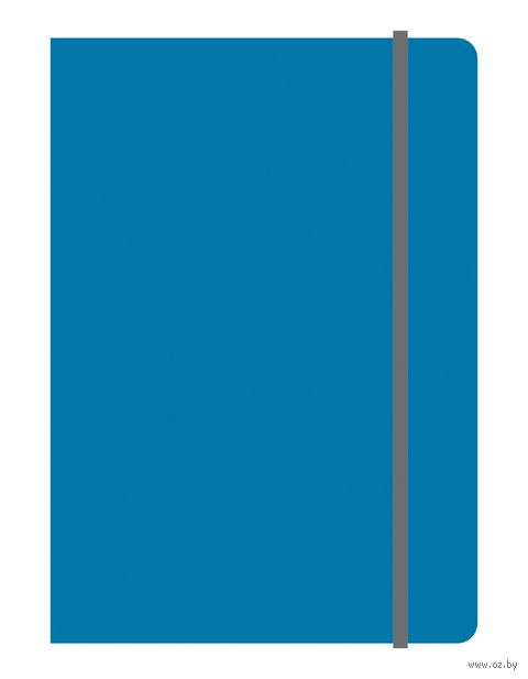 """Блокнот в клетку """"Elements"""" (А5; синий)"""