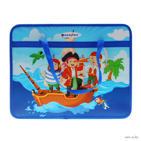 """Папка-портфель """"Пираты"""" (А4) — фото, картинка"""