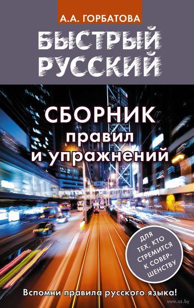 Быстрый русский. Сборник правил и упражнений — фото, картинка