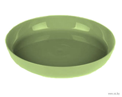 """Подставка для цветочного горшка """"Ага"""" (15,5 см; зеленый) — фото, картинка"""