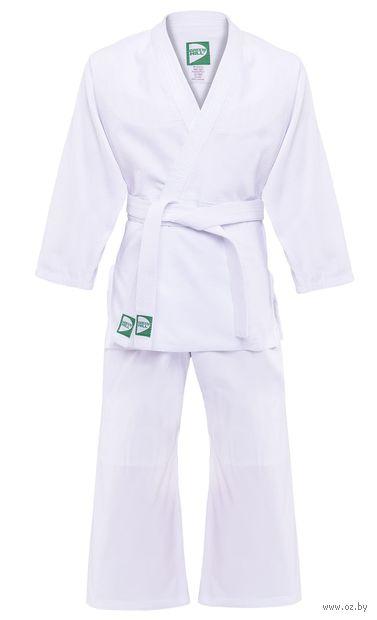 Кимоно для дзюдо MA-301 (р. 3/160; белое) — фото, картинка