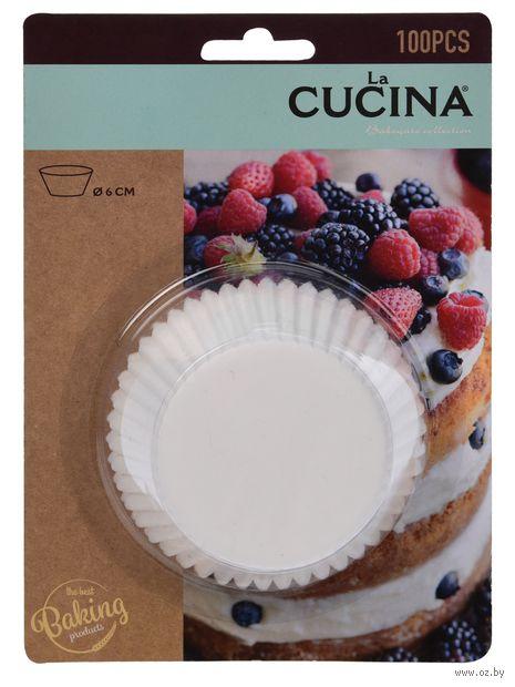 Форма бумажная для выпекания кексов (100 шт.; арт. C16000100) — фото, картинка