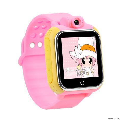Детские часы SmartBabyWatch G10 (розовые) — фото, картинка
