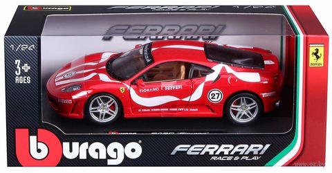 "Модель машины ""Bburago. Ferrari F430 Fiorano"" (масштаб: 1/24) — фото, картинка"