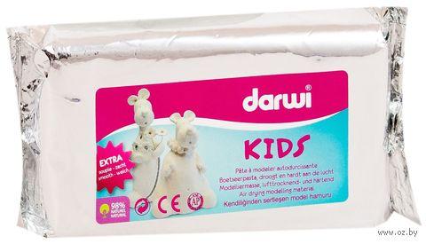 """Глина полимерная самозатвердевающая """"Darwi Kids"""" (белый; 250 г) — фото, картинка"""