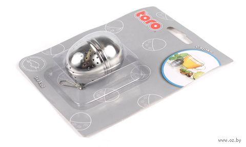 Шарик для заварки чая металлический (4,5 см)