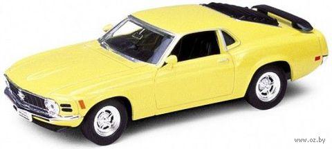 "Модель машины ""Welly. Ford Mustang 1970"" (масштаб: 1/34-39) — фото, картинка"