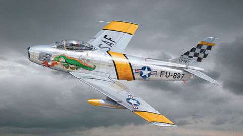 "Истребитель ""F-86F Sabre"" (масштаб: 1/72) — фото, картинка"