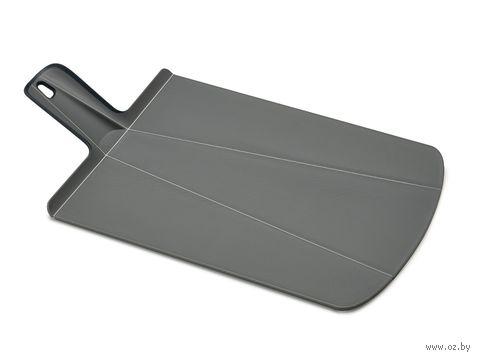 "Доска-трансформер разделочная ""Chop2Pot Plus"" (480х270х15 мм; серая) — фото, картинка"