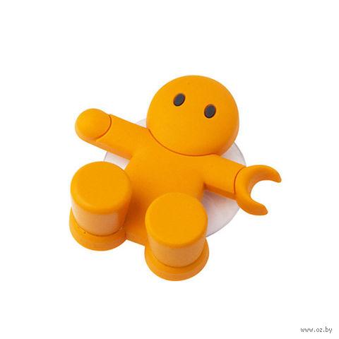 """Держатель для зубной щетки """"Amico"""" (оранжевый)"""