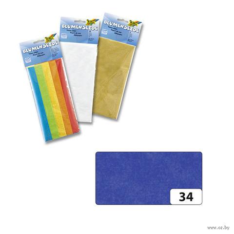 Бумага папиросная (синий; 500х700 мм; 5 листов)