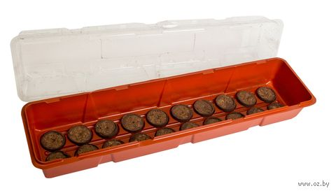 Парник для рассады с торфяными таблетками (20 шт.) — фото, картинка