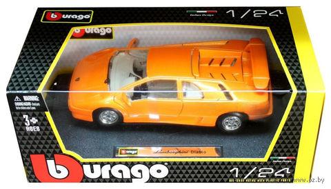 """Модель машины """"Bburago. Lamborghini Diablo"""" (масштаб: 1/24) — фото, картинка"""