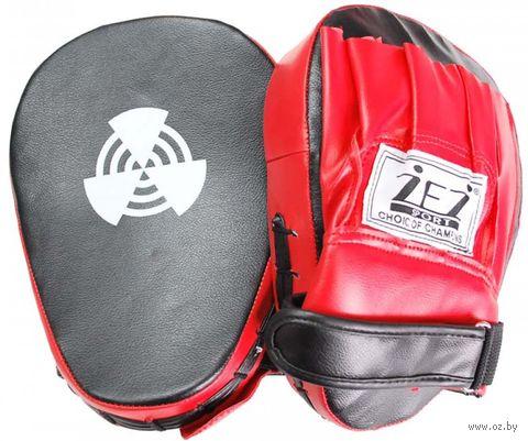 Лапа боксёрская изогнутая (арт. LAPA-I-NK) — фото, картинка