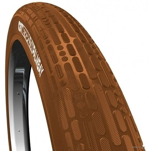 """Покрышка для велосипеда """"C-1779 Palmbay"""" (коричневая; 28""""x2.00) — фото, картинка"""