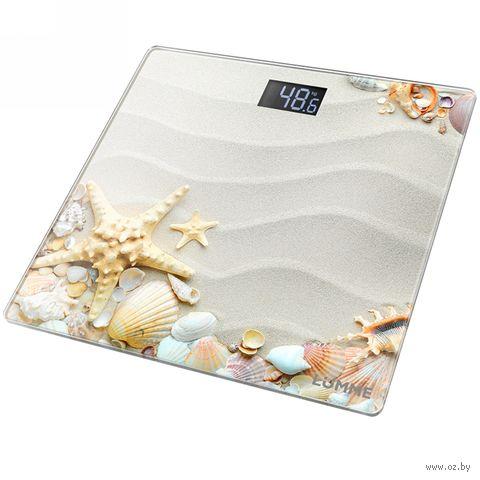 Напольные весы Lumme LU-1328 (морской пляж) — фото, картинка