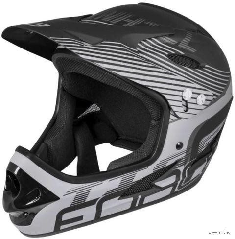 """Шлем велосипедный """"Tiger Downhill"""" (S-M; чёрный; арт. 902100) — фото, картинка"""