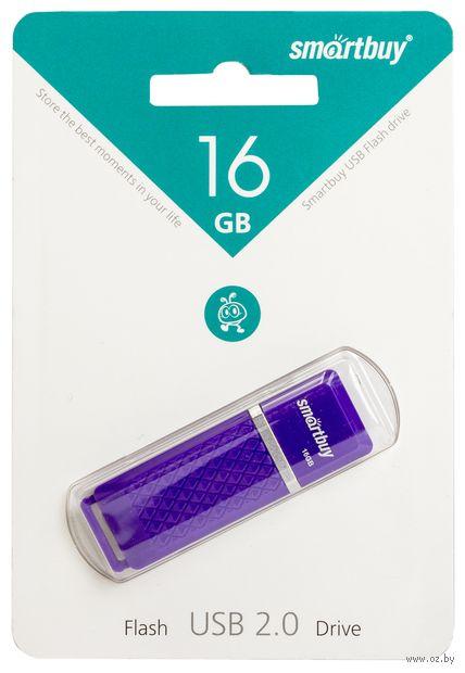 USB Flash Drive 16Gb SmartBuy Quartz (Violet)