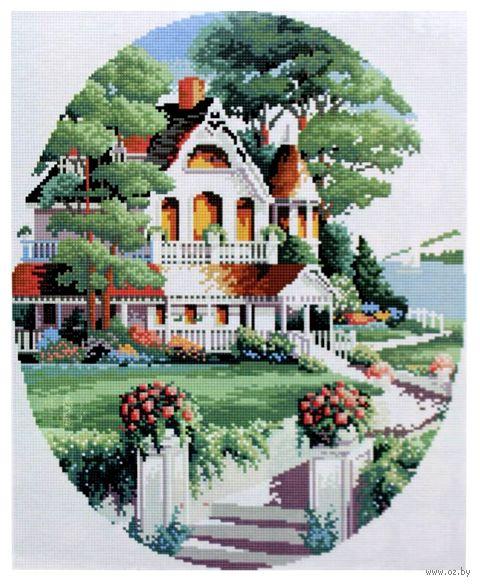 """Алмазная вышивка-мозаика """"Дом за городом"""" (400x500 мм; арт. 7713002) — фото, картинка"""