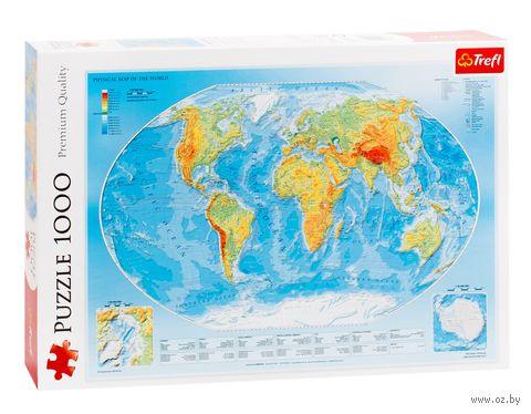 """Пазл """"Карта мира"""" (1000 элементов) — фото, картинка"""