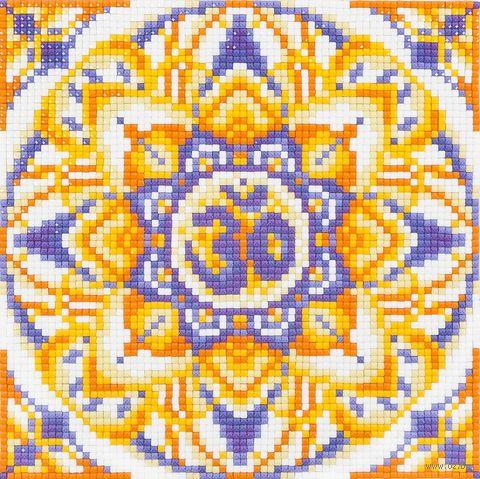 "Алмазная вышивка-мозаика ""Ом"" (160х160 мм) — фото, картинка"