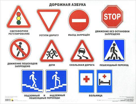 Дорожная азбука. Плакат — фото, картинка
