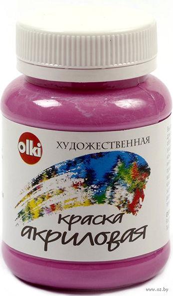 Краска акриловая (розово-фиолетовая, 100 мл)