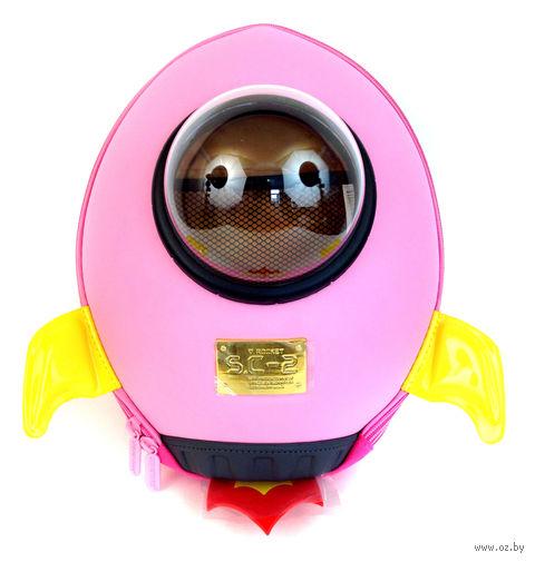 """Рюкзак """"Ракета"""" (розовый) — фото, картинка"""