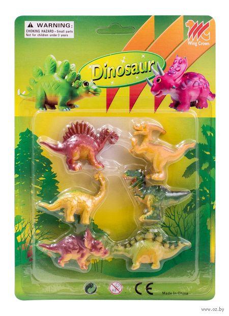 """Набор фигурок """"Динозавры"""" (6 шт.) — фото, картинка"""