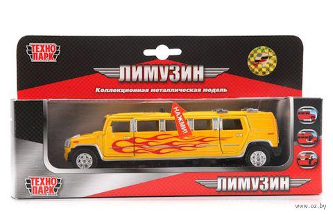"""Модель машины """"Лимузин. Желтое пламя"""""""