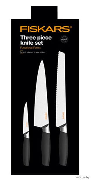 Набор ножей Functional Form+ Fiskars (3 штуки)