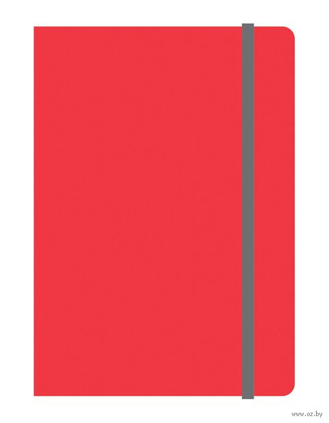 "Тетрадь А6 на резинке в клетку ""Elements"" 120 листов (арт. 39476)"