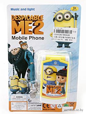"""Музыкальная игрушка """"Телефон. Гадкий Я"""" (арт. XN092R)"""