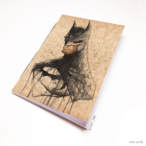 """Блокнот крафт """"Бэтмен"""" (А5; арт. 699) — фото, картинка"""