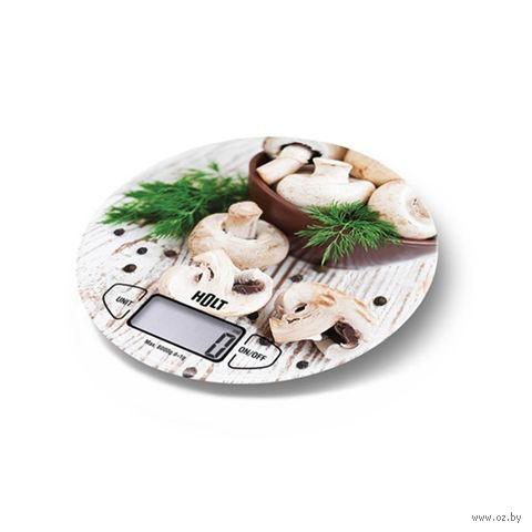 Кухонные весы Holt HT-KS-003 (грибы) — фото, картинка