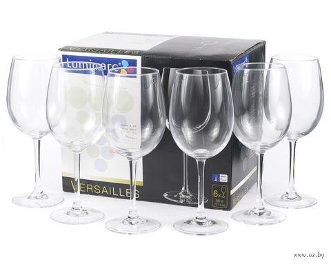 """Бокал для вина стеклянный """"Versailles"""" (6 шт.; 580 мл) — фото, картинка"""